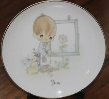 6 Inch Precious Moments Decorative Plate by Enesco