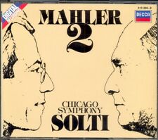 MAHLER - Symphony 2 - Georg SOLTI / Chicago Symphony Orchestra - Decca 2CDs WG
