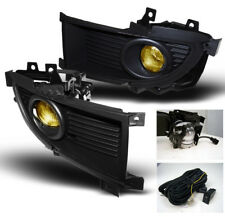 2006 MITSUBISHI LANCER RALLIART YELLOW FRONT BUMPER FOG LIGHTS LAMP W/SWITCH KIT