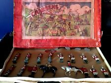 METAL TOY ENGLISH / BRITISH TOY SOLDIERS (CHARBENS CO.)