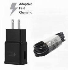 Samsung Galaxy S8 S8 Plus Note 8 Fast Wall Charger & Type-C Cable Set - Black