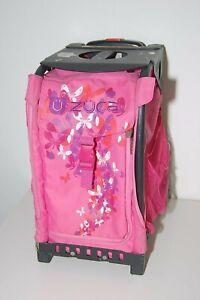 Zuca Pink Butterflies w/ Black Frame