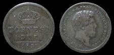 pci1120) Napoli Regno delle Due Sicilie Ferdinando II 2 Tornesi 1857 cifra dist.