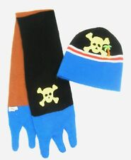 Kidorable Pirate Skull Beanie Hat & Scarf Set Toddler/Little Kids