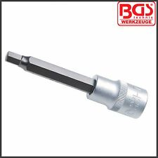 "BGS - 7 mm Allen Key, Internal Hex - 100 mm Long - 1/2"" Drive - Pro Range - 4262"