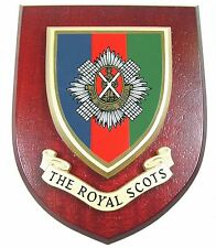 THE ROYAL SCOTS BADGE CREST REGIMENT CLASSIC HAND MADE  REGIMENTAL MESS PLAQUE