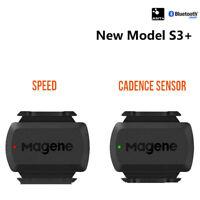 Bike Bicycle ANT +Wireless Bluetooth Bike Speed Cadence Sensor For Garmin