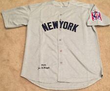 Joe Dimaggio New York Yankees Retro Throwback Jersey Mens XL NWT ROAD GRAY 1939