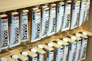 Golden Heavy Bodied Acrylic Paints Discounted, Buy One or a Lot Based on Needs