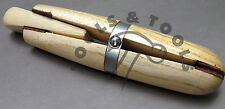 Pro en bois anneaux serrage cuir MÂCHOIRES bois dur joaillerie loisirs créatifs