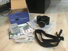 Canon PowerShot SX500 IS 16.0MP Digital Camera - Black (6353B001) - MINT