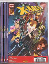 X-MEN UNIVERSE 4ème série N° 16A à 23 Marvel Panini SERIE 8 comics