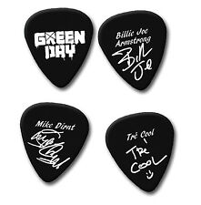 Green Day Greenday Billie Joe TRE firma impresa Plectrum Guitar Picks Selecciones