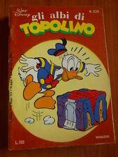 Gli Albi di Topolino n°1229 [G423] - BUONO