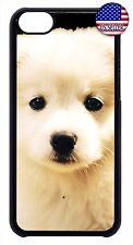 For Apple iPod 4 5 6 Puppy Dog Face New Hard Skin Back Case Cover
