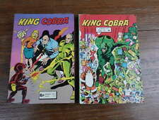 2x ARTIMA AREDIT : KING COBRA No 13 (1979) + Recueil No 784 (1979)