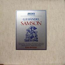 RICHTER handel samson 4 LP Mint- 198 461 64 Vinyl 1968 Record