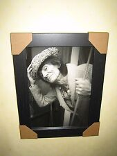 Ronnie Wood Rolling Stones Framed Print {A4} BARGAIN