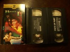 Bruce Lee Collector's 2 Pack Vhs Fists Of Fury & Chinese Connection