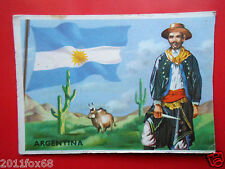 figurines cromos cards figurine sidam stati del mondo 10 argentina flags flaggen