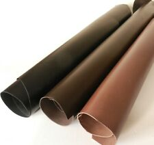 2MM THICK VEG TAN CRAFT LEATHER BLACK - BROWN - SADDLE TAN SMALL PIECES