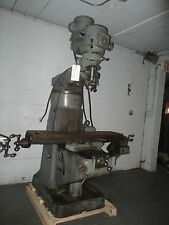 Bridgeport Model BR2J, Variable Speed Vertical Turret Milling Machine, 1.5HP