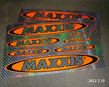2 AUTHENTIC MAXXIS TYRES HOLOGRAPHIC STICKER SHEETS / DECAL / TIRES AUFKLEBER