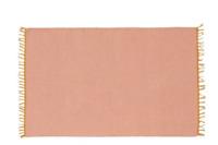 Habitat Brockley Rug Pastel Pink Flat Weave Flatweave 120 x 180 cm Carpet Runner