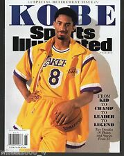 Sports Illustrated 2016 Los Angeles Lakers KOBE Special Retirement Issue NR/Mint
