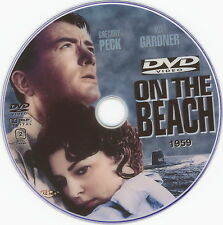 ON THE BEACH DVD (1959) Gregory Peck Ava Gardner Fred Astaire Drama Sci-Fi