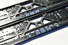 2x KENNZEICHENHALTER NUMMERNSCHILDHALTER für 3D BMW MOTORSPORT