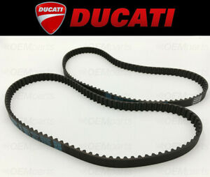 Set of (2) Camshaft Timing Belts Ducati 748/851/888/916/996 (See Fitment Chart)