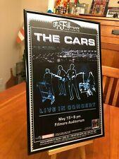 BIG 11X17 FRAMED THE CARS & RIC OCASEK THE LAST CONCERT TOUR (2011) LP CD POSTER