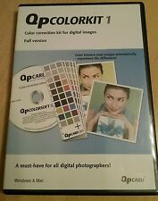 QP ColorKit 1 Color Correction Kit For Digital Images Software Pass Key included