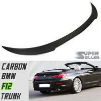 Carbon Fiber Trunk Spoiler Fit For BMW Convertible 6-Series F12 V-LOOK 640i 650i