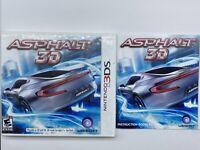 ASPHALT 3D Nintendo DS CASE & MANUAL ONLY NO GAME