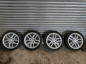 SEAT EXEO 17 INCH ALLOY WHEEL SET + 225/45R17 TYRE SEE IMAGES