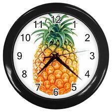 New Wall Clock Tasty Pineapple / Fresh Fruits Kitchen Wall Clock!