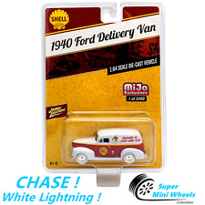 CHASE ! White Lightning ! 1:64 - Shell 1940 Ford Panel Delivery Van (Red/White)