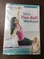 Mini Flex Ball Workout (DVD 2007) Exercise Fitness Stott Pilates New Sealed