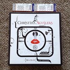 CHRISTINA AGUILERA-RARE BIONIC FAN EDITION BOX SET-3LP's/CD/PRINTS & 2 TICKETS