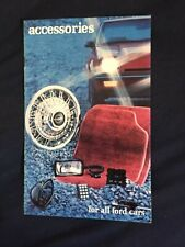 1982 Ford Mustang LTD Escort Mustang Thunderbird Accessories Brochure Prospekt