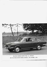ROOTES SUNBEAM ALPINE 1969 PRESS or  PUBLICITY PHOTO 'brochure connected'