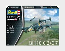 Messerschmitt Bf110 C-2/C-7 Germany Luttwaffe Aircraft Kit REVELL 1:32 RV04961