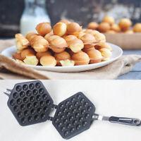 Waffeleisen Ei Kuchen Egg Waffle Puff Brot Maker Puff Bubble Baker Schwenken DE