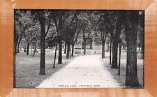 "Litchfield Minnesota~Central Park Gazebo~""Frame"" Border~1910 Postcard"