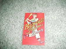 1960s Japanese Baseball Tattoo Baseball Book