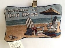 Welcome To Hilton Head Word Pillow