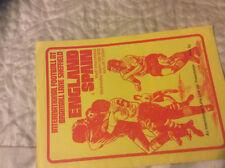 1972 ENGLAND YOUTH V SPAIN YOUTH @ SHEFFIELD UNITED