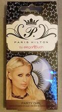 Paris Hilton eyelashes Fake false lashes pair strip gold diamante gems black uk